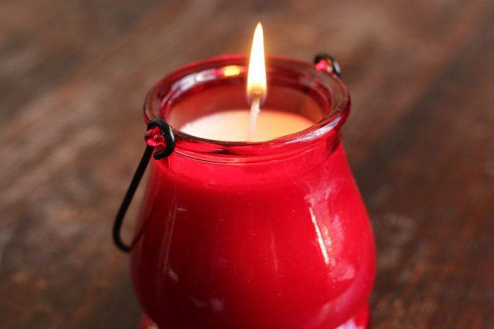 candle-burning